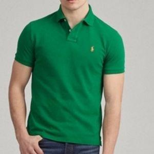 Big & Tall Polo Ralph Lauren 4XB Soft Touch Green